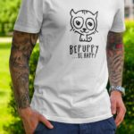 T-shirts for men who love cats! BEPUPPY BE HAPPY! - BEPUPPY