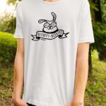 Funny t-shirt for man bepuppy be happy | Bunny lover t-shirt - BEPUPPY