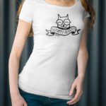 Scoop neck t-shirts for women who love cats! - BEPUPPY
