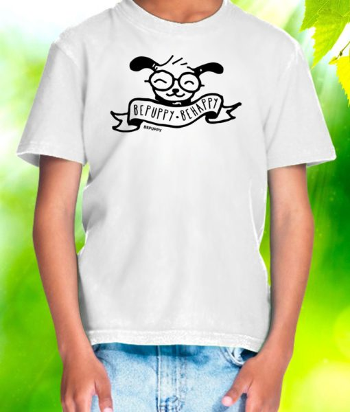 Youth t-shirts bepuppy be happy! - BEPUPPY